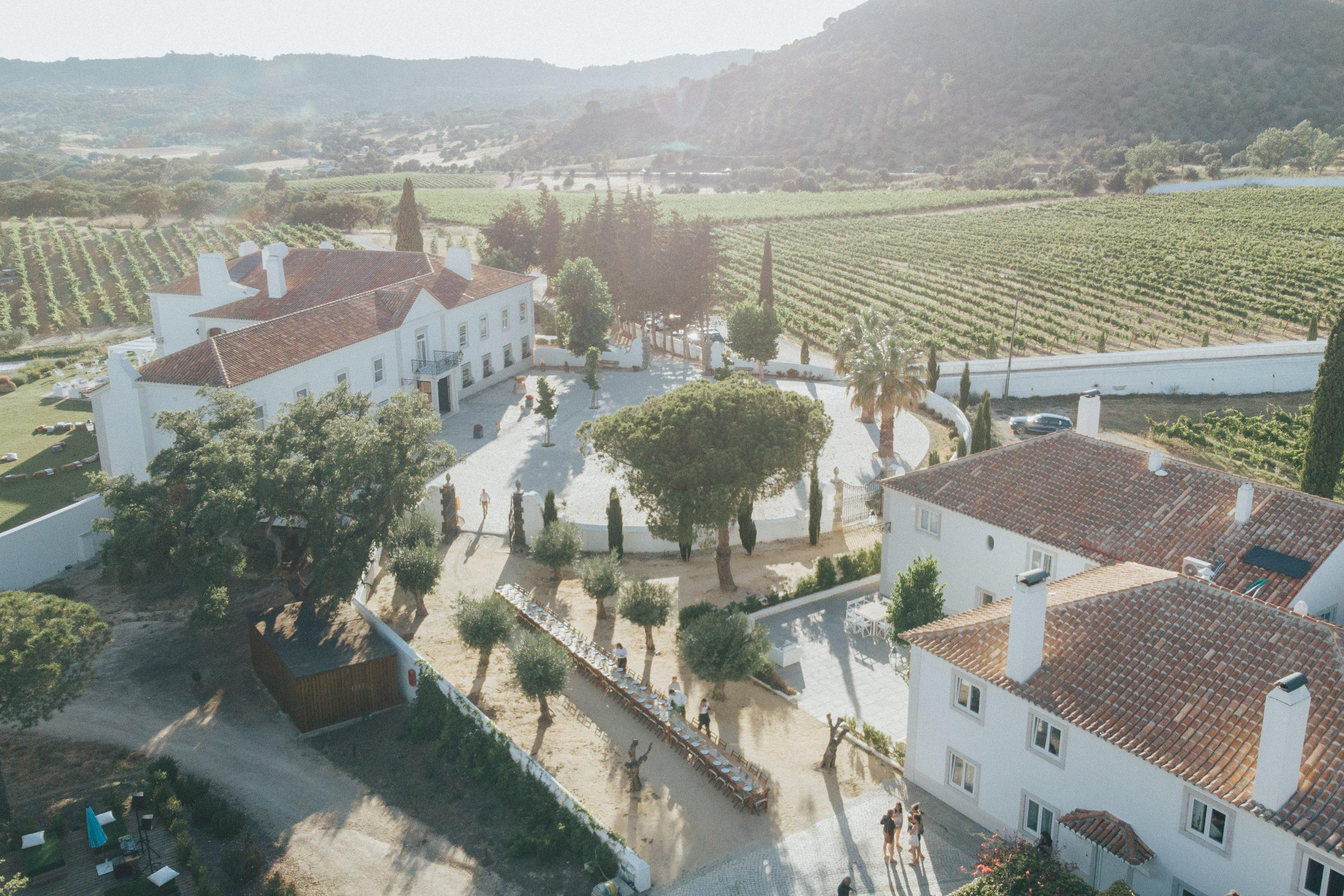 hotel casa pallmela wedding venues portugal countryside