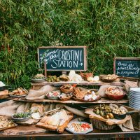 Meaningful-food-choices-crostini-station-The-Melideos